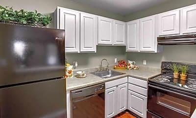 Kitchen, Palm Isle, 1