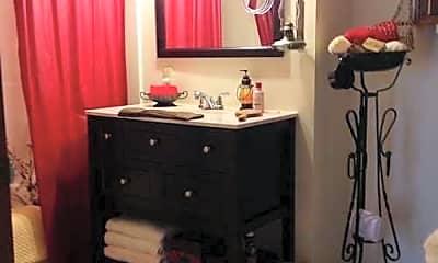 Bathroom, Moro Apartments, 1