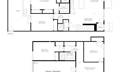Patio / Deck, 1436 Montrose St, 2
