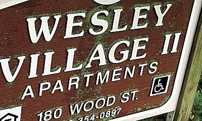 Wesley Village, 1