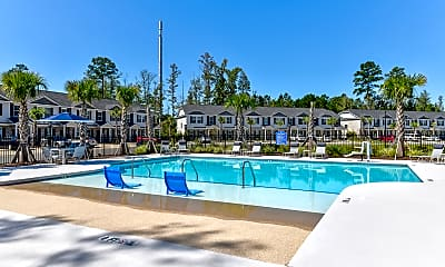 Pool, Rivermoor West Apartments, 0