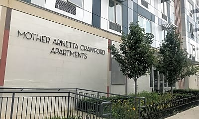 THE MOTHER ARNETTA CRAWFORD APARTMENTS, 1