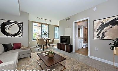 Living Room, 555 Massachusetts Ave NW, 0