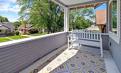 Patio / Deck, 4520 William St, 1