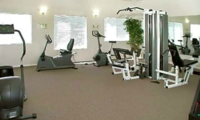 Fitness Weight Room, Rembrandt Park Apartments, 2
