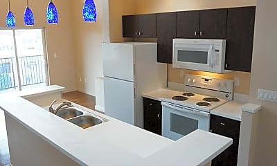 Kitchen, The DeLuxe Apartments, 0