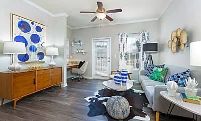 Living Room, The Parke at Oakley, 0