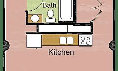 Bathroom, 815 W Market St, 2