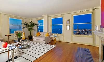 Living Room, 1250 Jones St, 0