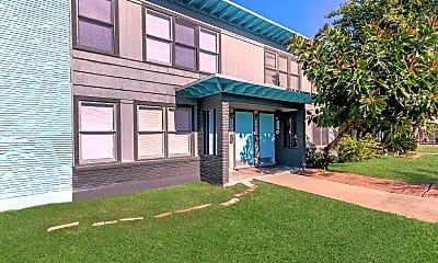 Building, Santa Fe Arms Apartments, 2