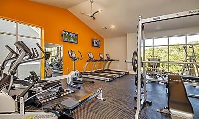 Fitness Weight Room, Knox Ridge, 2