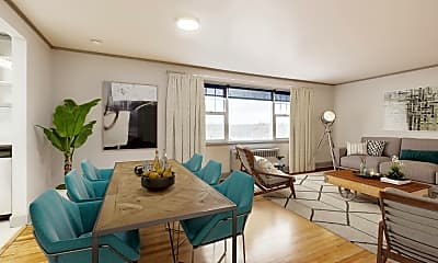 Living Room, Shorewood Heights, 1