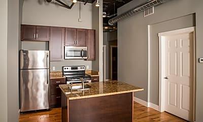 Kitchen, Lofts on Pearl, 1