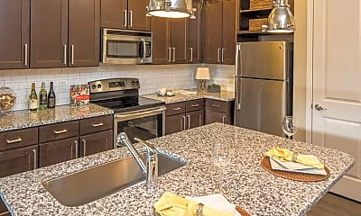 Kitchen, Ardmore & 28th Apartments, 0