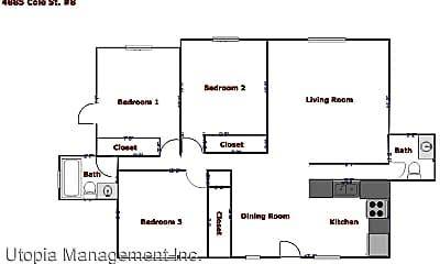 4885 Cole Street #8, 2