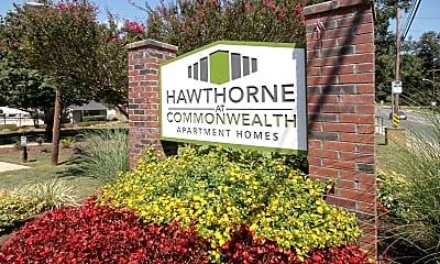 Community Signage, Hawthorne at Commonwealth, 2