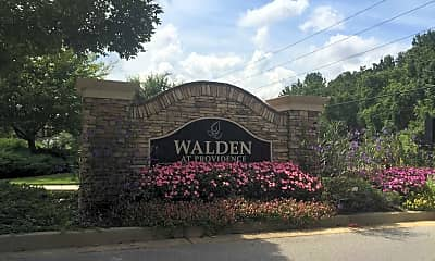 Landscaping, Walden At Providence, 1