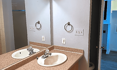 Bathroom, 9623 Walnut St, 2