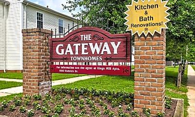 Community Signage, Gateway Townhomes, 2