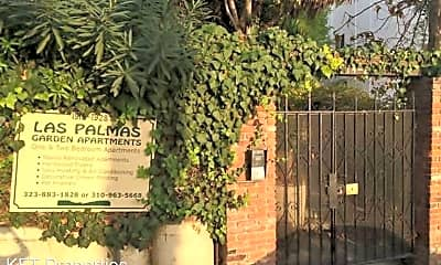 Community Signage, 1914 N Las Palmas Ave, 1