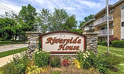 Community Signage, Riverside House, 2
