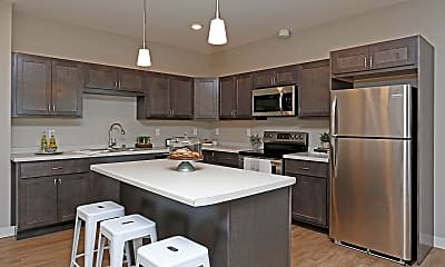 Kitchen, The District Flats, 1