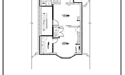 Bathroom, 11 S 3rd St, 2