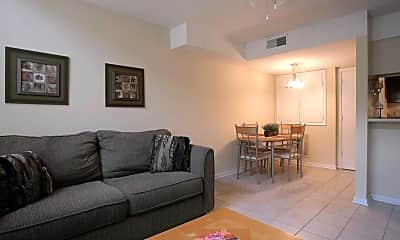 Living Room, Hunters Pointe, 1