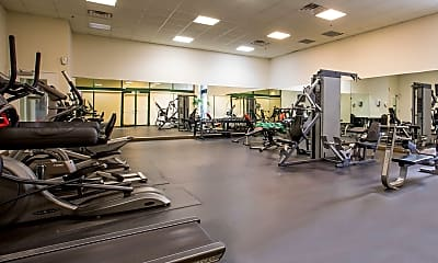 Fitness Weight Room, The Heritage at Lyndhurst, 2