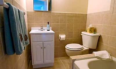 Bathroom, North Lane Apartments, 2
