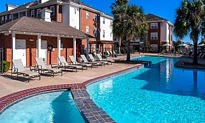 Pool, The Quarters Student Living, 0