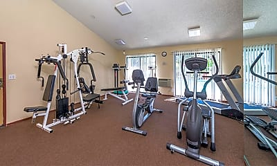 Fitness Weight Room, Ariel Court Apts, 2