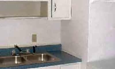 Kitchen, College Court Apartments, 2