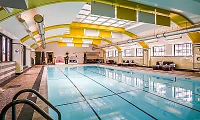 Pool, Randolph Tower City Apartments, 0