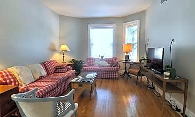 Living Room, 8643 E Jefferson Ave, 1