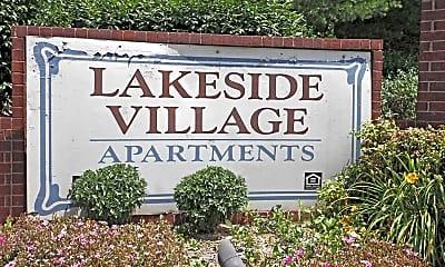 Community Signage, Lakeside Village I/II, 2