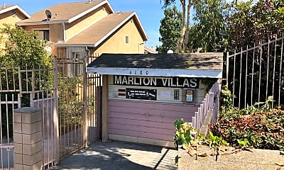 Marlton Villas, 1