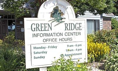 Community Signage, Green Ridge, 2