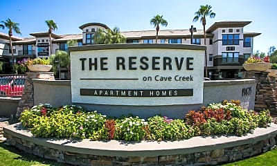 Community Signage, The Reserve on Cave Creek, 1