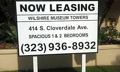 Wilshire Museum Towers, 1