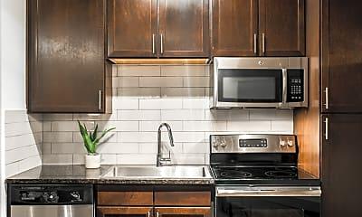 Kitchen, TwentyOne01 on Market Apartments, 1