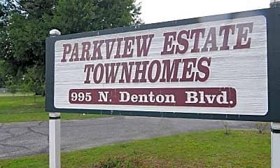 Community Signage, Parkview Estates, 1