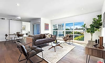 Living Room, 1425 N Crescent Heights Blvd 307, 0