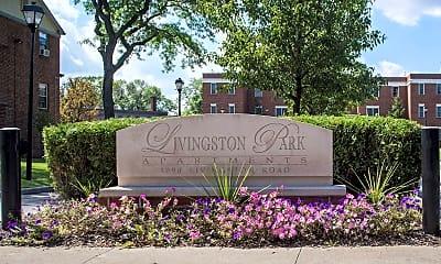 Community Signage, Livingston Park Apartments, 0