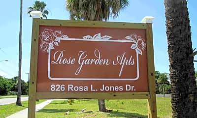 Community Signage, 826 Rosa L Jones Dr, 1