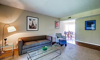 Living Room, Woodland Village, 1
