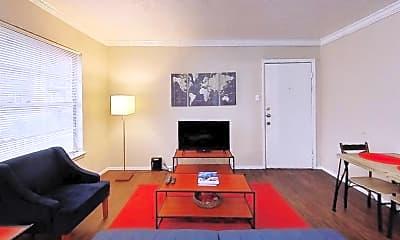 Living Room, 4040 Brown Street, 0