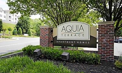 Community Signage, Aquia Terrace, 2