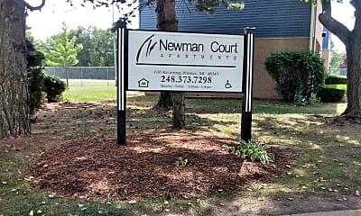 Newman Court Apartments, 1