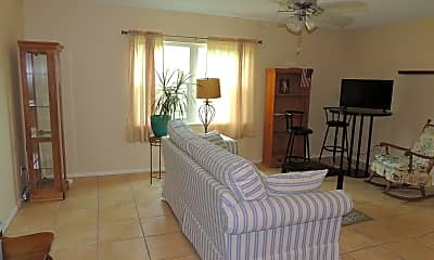 Living Room, 230 Columbia Dr 207, 1